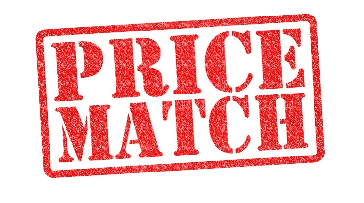 Did you know we price match?